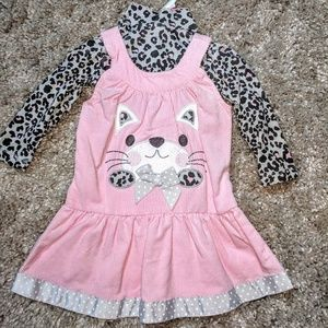Wonderkids dress corduroy outfit set baby clothes